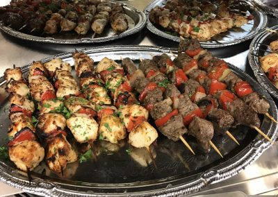Big Tommy's Parthenon Catering Chicken & Steak Shish Kabob